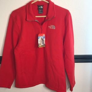 Men's Red Medium The North Face Fleece